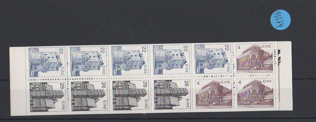 Briefe Nach Irland : Irland markenheft postfrisch mh minr · briefmarken